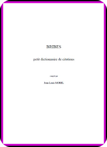 Petit dictionnaire de citations